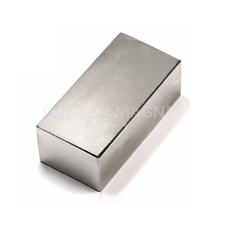 N40 F50.8x25.4x12.7mm Strong Neodymium Magnet Block