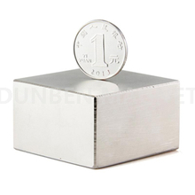 Block Super Strong N52 High Quality Rare Earth Neodymium Magnet