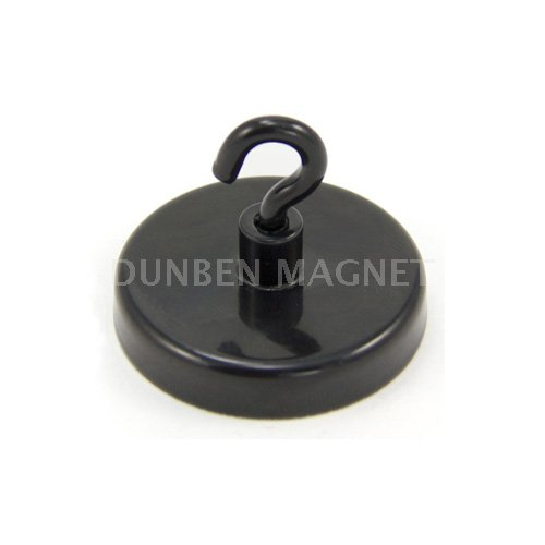 Strong Powerful Colorful Round Base ceramic / ferrite magnetic hooks