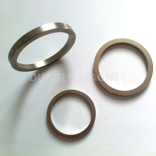 Cast Ring Permanent AlNiCo 5 Magnets with High Temperature Resistance