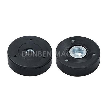 Rubber Coated Magnetic System with bore and counterbore, rubber coated Neodymium Magnet assembly , Holding Neodymium Mounting Magnet,Rubber coated neodymium pot magnets