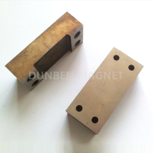 Powful alnico channel magnet with holes, Alnico horseshoe magnet