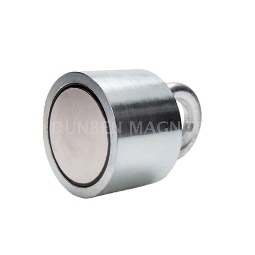 Super Strong Fishing Eyebolt Magnet,Strong Neodymium Hook Salvage Eyebolt Pot Magnet,Metal Detector Recovering Permanent Eyebolt Magnet,Finder Hunting Fishing Salvage Magnet
